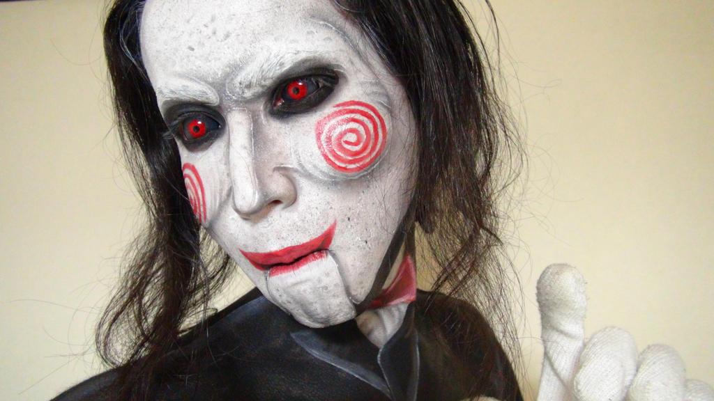 Billy The Puppet - Makeup by KisaMake on DeviantArt