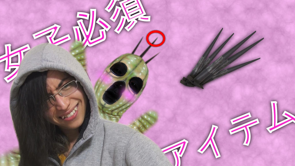 DIY Cactuar Needle by KisaMake