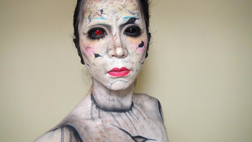 Broken Doll - Makeup 3 by KisaMake ...