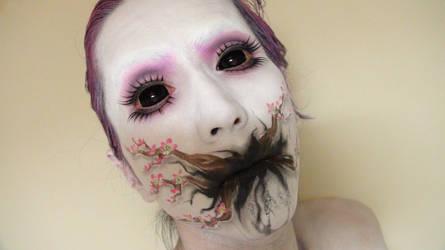 - Cherry Blossom Tree - Makeup 3 by KisaMake