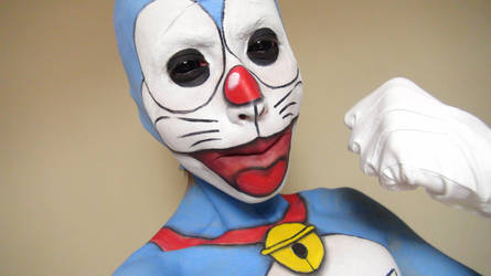 - Doraemon - Makeup 2 by KisaMake