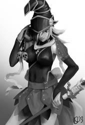 GRAY: Gagaga Girl by Azulla-00