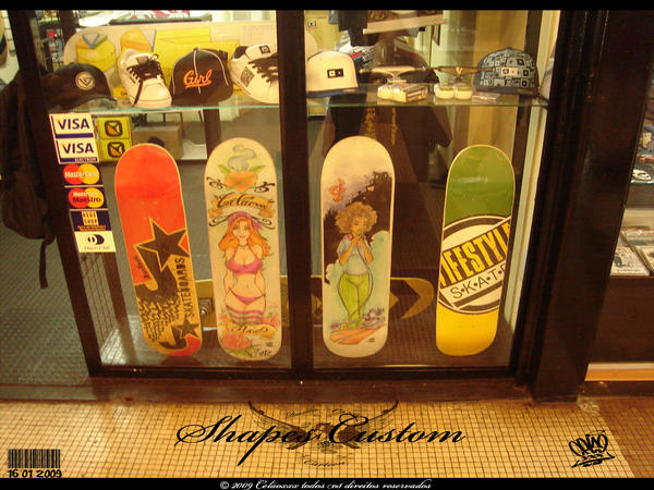 shape custom - Base skate shop by celaoxxx