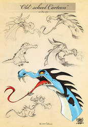 Dragons sketch page 10 by celaoxxx