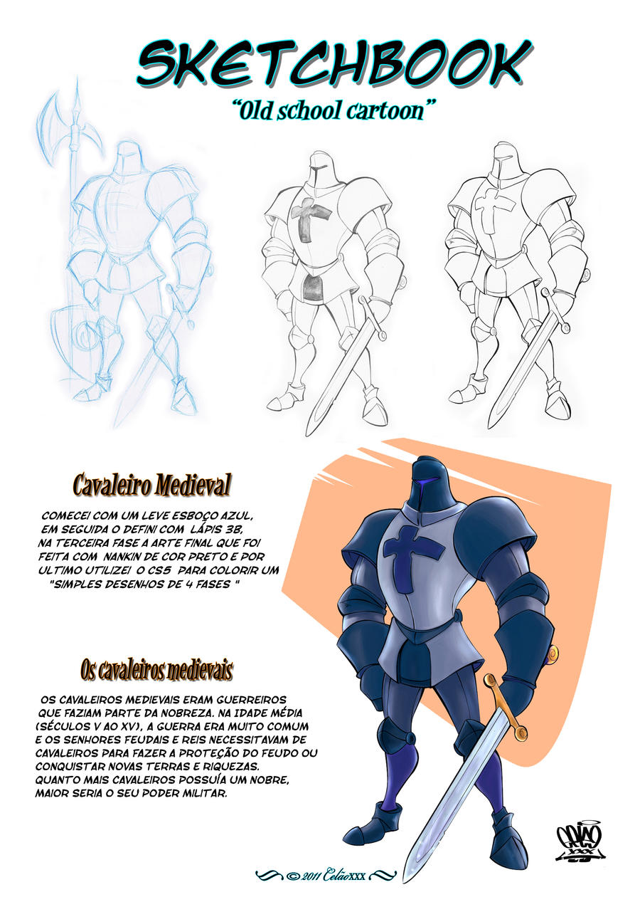 Medieval Knights by celaoxxx