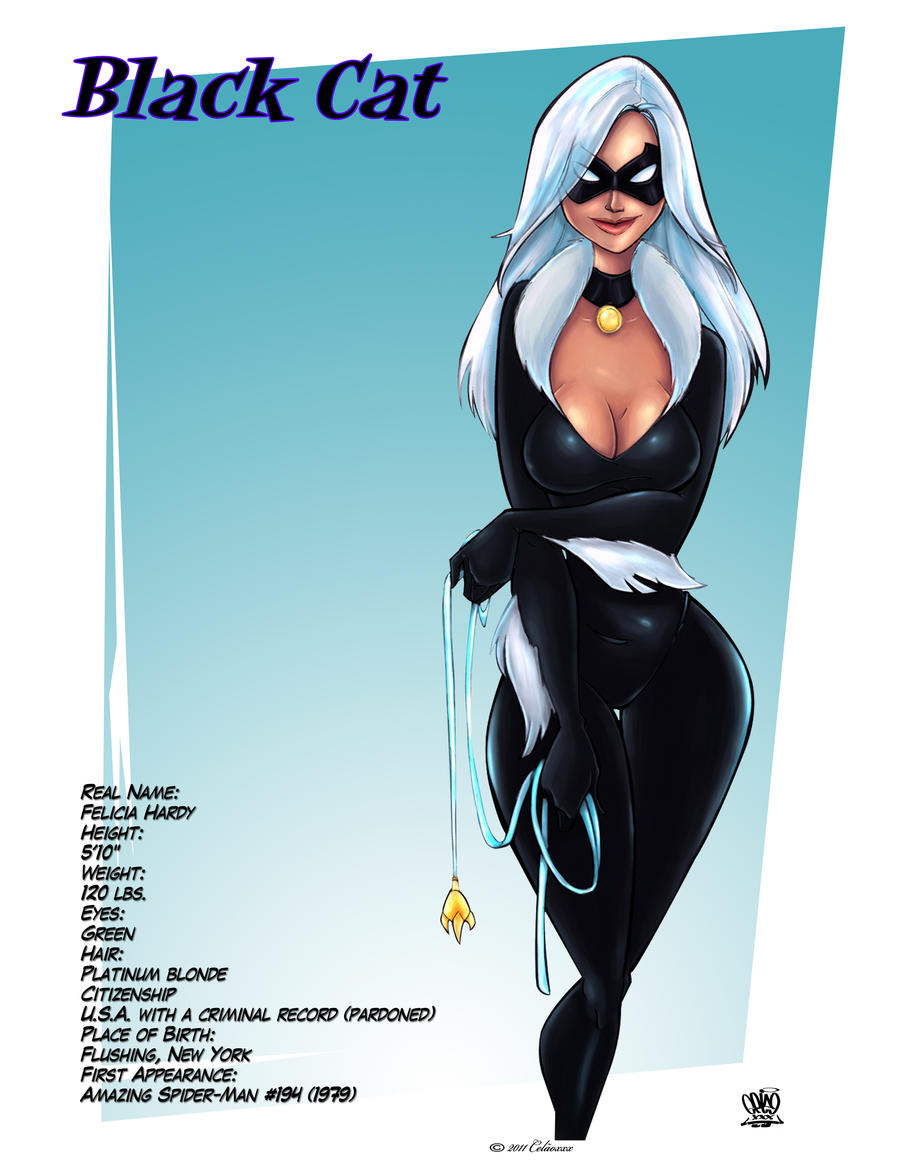 Black Cat comics by Celaoxxx by celaoxxx