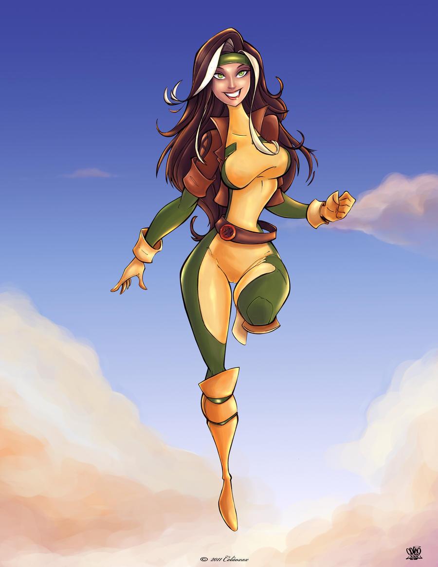 Rogue X Men by celaoxxx