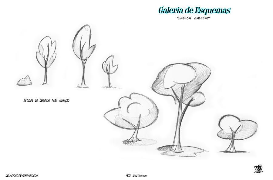 Cartoon sketch gallery by celaoxxx