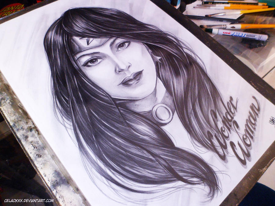 Wonder Woman D.C by celaoxxx