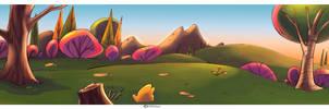 Land scape Cartoon color 3