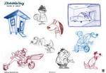Cartoon sketch gallery page 10