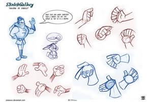 How to draw Hands cartoons by Celaoxxx by celaoxxx