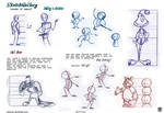 How to draw cartoon character desing