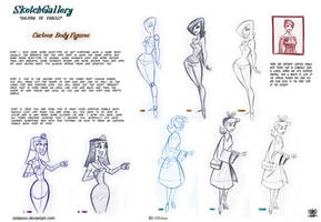 How to Draw Cartoon Body figures by celaoxxx