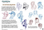 How to DrawToon Faces, Drawing Cartoon Faces