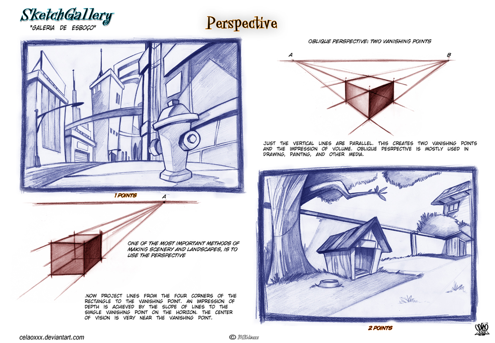 How to draw Perspective by celaoxxx