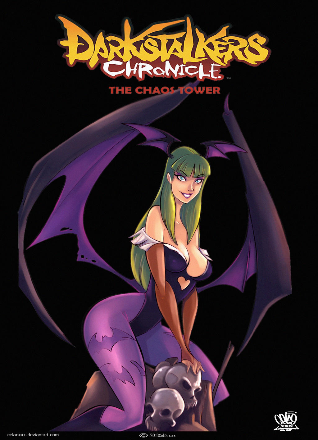 Darkstalkers Morrigan wallpaper by celaoxxx