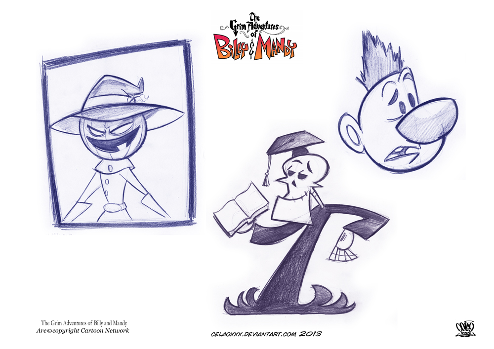 The Grim Adventures of Billy and Mandy favourites by YukaiRyujin