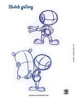 sketch studies by celaoxxx