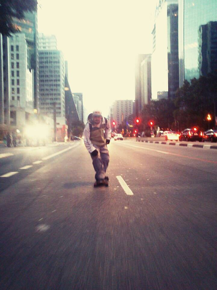 Longboard Av Paulista by celaoxxx