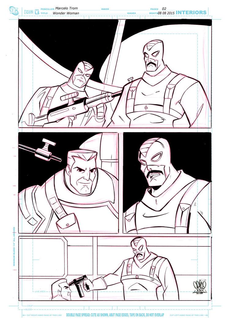 Wonder Woman page 1 by celaoxxx