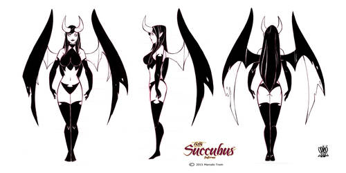 Model sheets Lith succubus