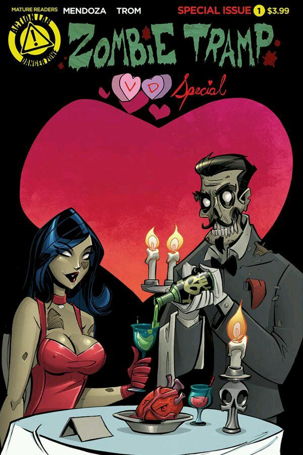 zombie Tramp special Valentine days by celaoxxx