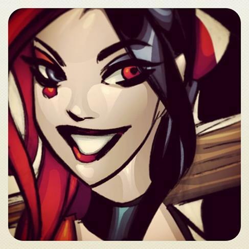 Harley Quinn by celaoxxx
