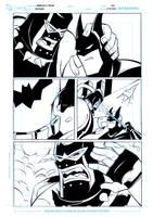 Batman vs Bane by celaoxxx
