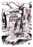 ZT poster living dead by celaoxxx