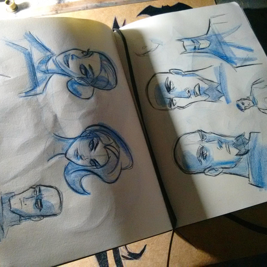 Sketchbook 2016 by celaoxxx