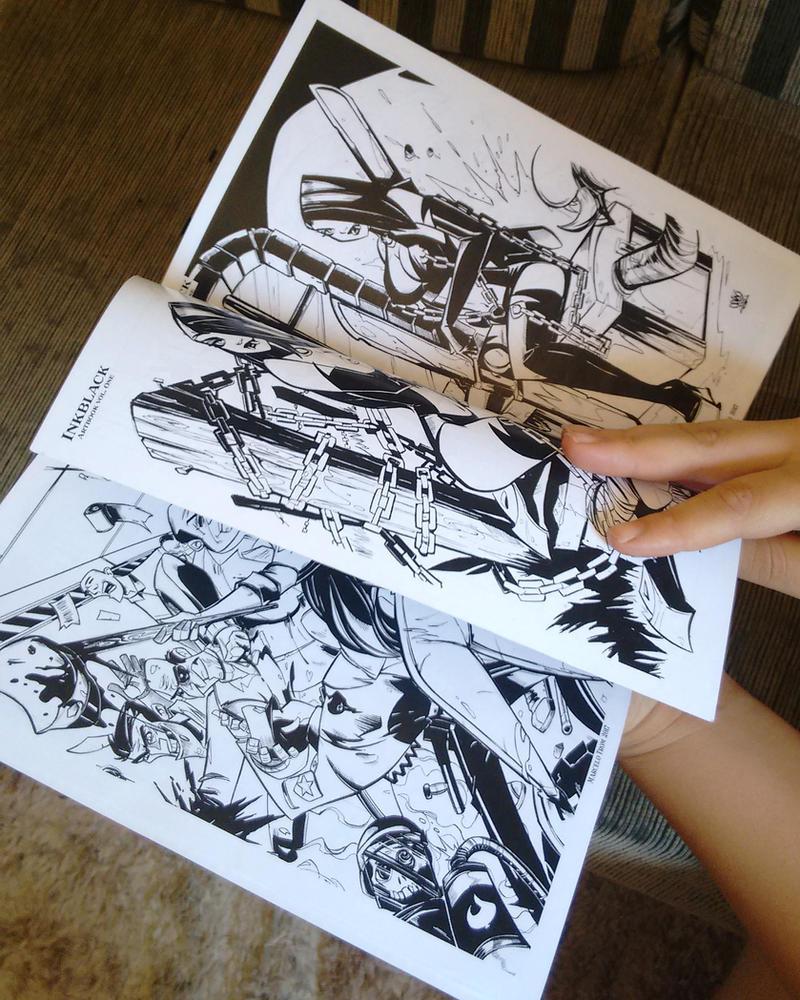 Artbook 1 inkblack by Marcelo Trom by celaoxxx