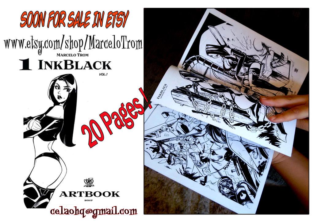 Inkblack artbook One by celaoxxx