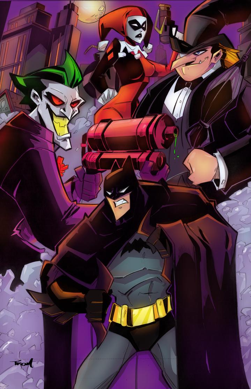 Batman and crew by celaoxxx