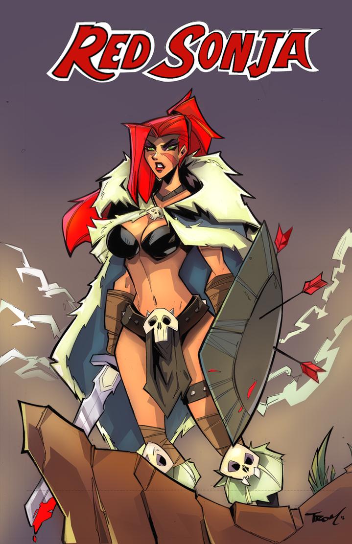 Red Sonja by celaoxxx