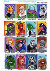 Marvel upper decks cards black Panther