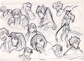 1 pages sketch by celaoxxx