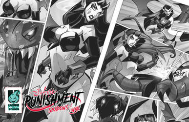 Infinite Punishment comic book by celaoxxx