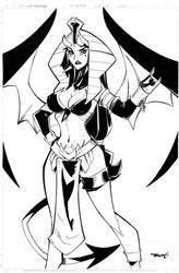 Pin Up 1 Lith Succubus by celaoxxx