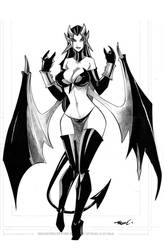 Pin Up 10 Lith succubus by celaoxxx