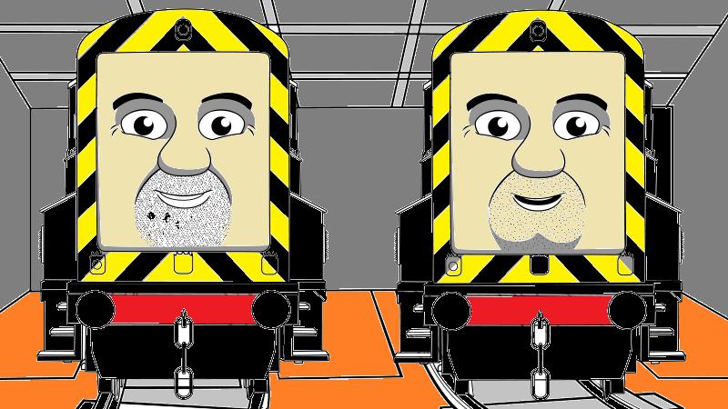 39 Arry and Bert on DeviousDieselClub DeviantArt