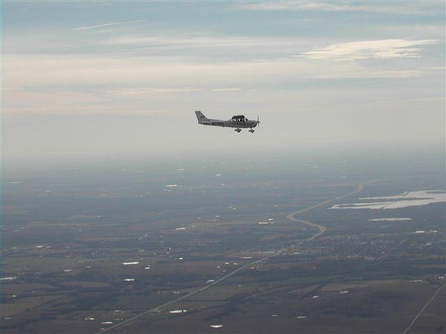 Me flying N2158S over OK by F16CrewChief