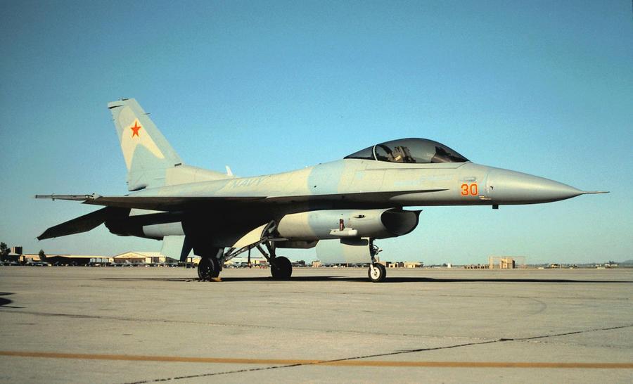 Navy F-16N by F16CrewChief