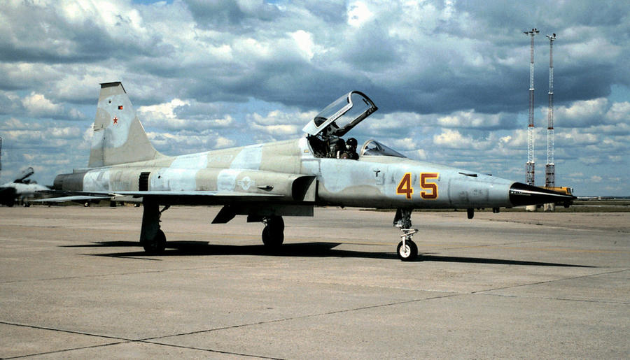 VFA-127 Adversary at Cold Lake by F16CrewChief