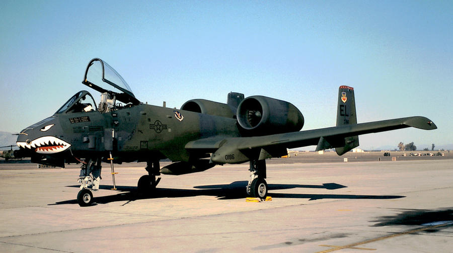 76th TFS A-10A No. 1