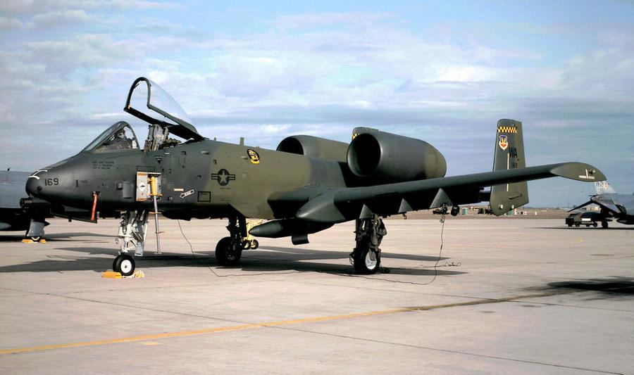 422 TES A-10A by F16CrewChief