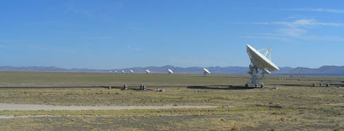 Panorama of the VLA