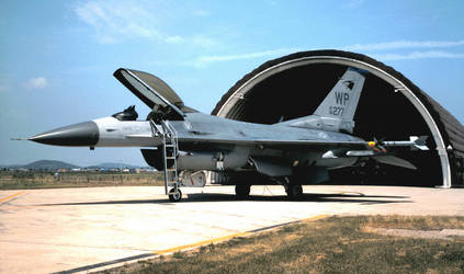 35th FS F-16C No. 1 by F16CrewChief