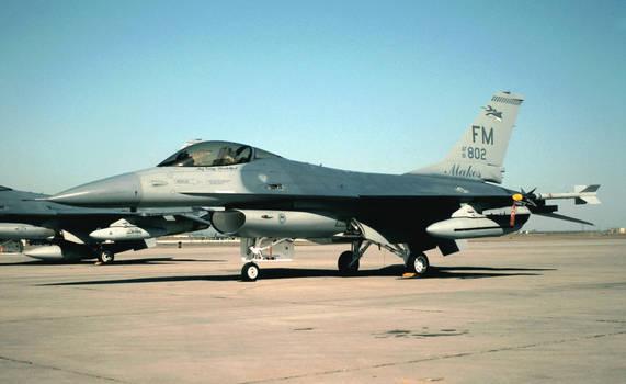 93d FS F-16A-15