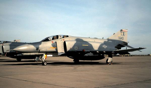 704th TFS F-4E